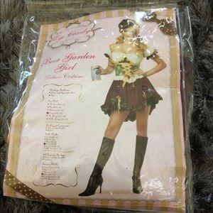 Beer Garden girl deluxe costume size L new
